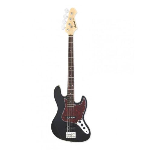 ria Electric Bass Guitar Black STB-JB/TT BK