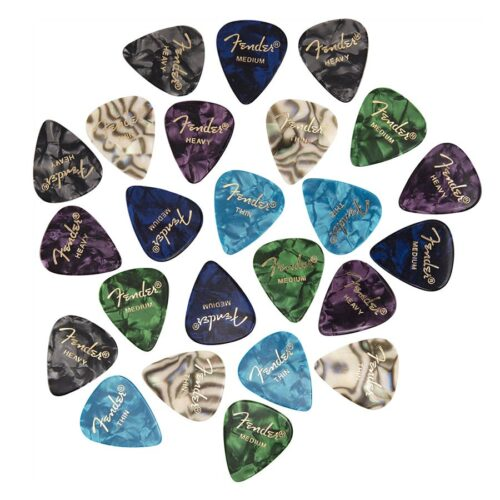Fender Premium Celluloid Picks mixed pickpack