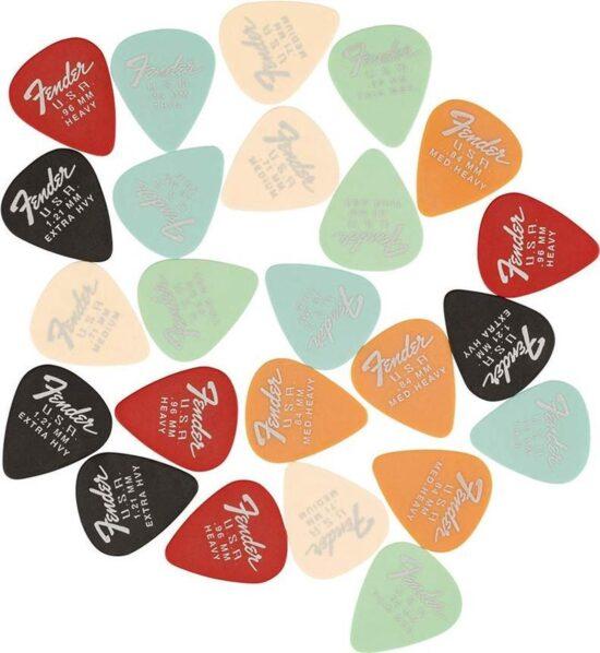 Fender Dura Tone Plectrum set 24 stuks
