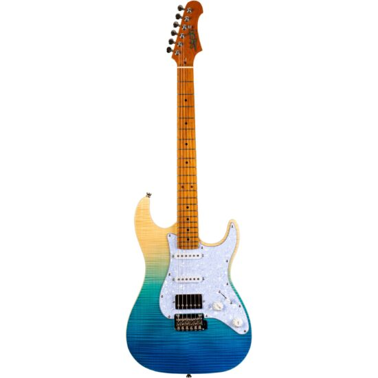 JET Guitars 450 Series JS-450 Transparent Blue elektrische gitaar